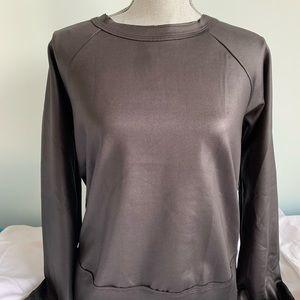 Koral black athletic pullover